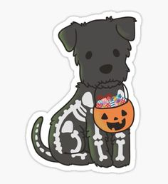 High quality Schnauzer gifts and merchandise. Inspired designs on t-shirts, posters, stickers, home decor, and more by independent artists and designers from around the world. Kawaii Halloween, Halloween 2020, Halloween Tumblr, Stickers Kawaii, Cute Stickers, Halloween Wallpaper Iphone, Iphone Wallpaper, Office Wallpaper, Tumblr Stickers