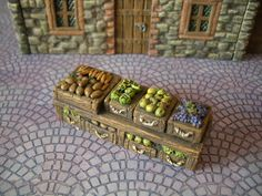 Thomarillion - Very detailed unpainted Dungeon Dressing from Europe