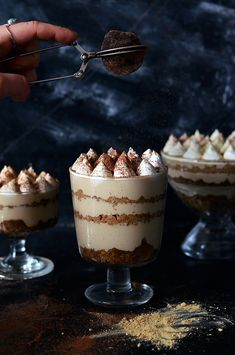 """Gingerbread Tiramisu 