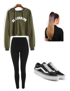 """Untitled #10"" by haileymagana on Polyvore featuring Topshop and Vans"