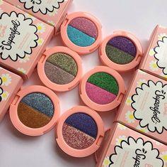 Sombras con glitter #Superfoil de #LimeCrime