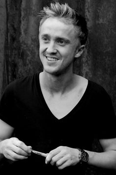 Image detail for -... Potter star, Tom Felton (Draco Malfoy) at the Hollywood Blvd Cinema