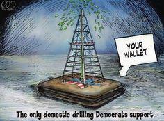 Domestic Drilling, Democrat Style