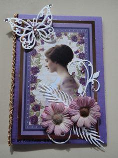 Wunderschöne,  nostalgische Gruß- oder Glückwunschkarte mit Frauenmotiv Frame, Home Decor, Crafting, Nice Asses, Picture Frame, Decoration Home, Room Decor, Frames, Home Interior Design