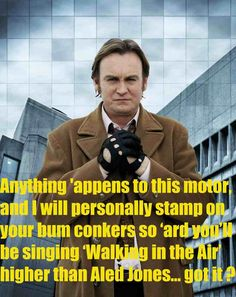 One of my favourite quotes from Gene Hunt, played by Philip Glenister in Life on Mars and Ashes to Ashes. Life Quotes Pictures, Funny Pictures, Mars Tv Show, Classic Quotes, Hunting Quotes, Bbc Drama, Life On Mars, Great Tv Shows, Film Books
