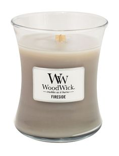 """WoodWick Candles. Zoe says, """"But not the kind that smell like anything you would eat, unless it's Green Tea Citrus from Cracker Barrel."""""""
