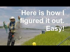 How to throw a cast net - the best way detailed step-by-step - YouTube