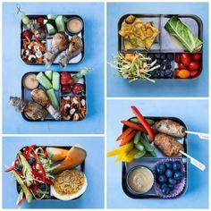 Sunde og lækre madpakker. Se de mange idéer her: Madbanditten.dk Low Carb Recipes, Diet Recipes, Healthy Recipes, Food N, Food And Drink, Blood Type Diet, Dukan Diet, Tapas, Meal Planning