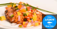 Paleo Salmon with Mango Salsa recipe