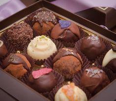 Beautiful! Organic, gourmet truffles from H.R. Zeppelin Chocolates. AMAZING!