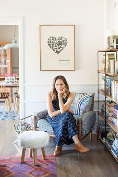 Actress Michaela McManus' home: http://www.stylemepretty.com/living/2015/04/11/eclectic-la-living-room/ | Photography: Stephanie Godfrey - http://www.stephaniegodfrey.com/