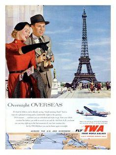 july 8, paris celebrates 2,000th birthday in 1951 (image via nostalgic photos and prints on flickr)