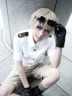 shinomiya ran(篠宮 蘭) Prussia Cosplay Photo - WorldCosplay