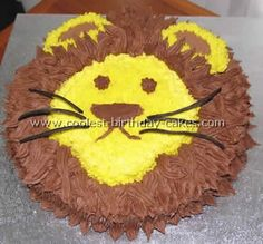 Lion Picture Cake