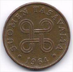 Finland 1 Penni 1964 op eBid België