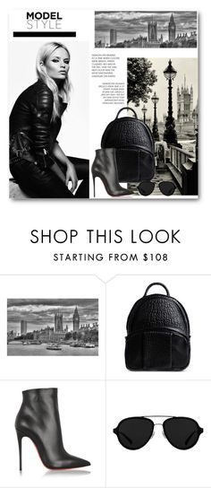 """Pack and Go: London"" by dezaval ❤ liked on Polyvore featuring Bailey, Alexander Wang, Christian Louboutin, 3.1 Phillip Lim, StreetStyle, ItGirl, Packandgo and totalblackout"