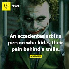 Inspirational Quotes from the Famous Joker. Here are some of the best words from the Joker! I love the seventh one! pics) (check out all photos) Humor Mexicano, Joker Cosplay, Wtf Fun Facts, Funny Facts, Random Facts, Happy Birthday To You, Suicide Squad, Der Joker, Nananana Batman