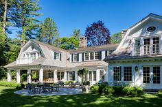 View the portfolio of architect Patrick Ahearn Architect in Boston, MA Southern House Plans, Southern Homes, Sims 4, Dutch Colonial, Cottage Exterior, House Goals, Estate Homes, Architecture Details, Curb Appeal