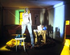"""Laurie Simmons, """"Long House (Den),"""" 2004."""