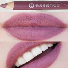 Gorgeous creamy lip liner by Essence called (Satin Mauve).
