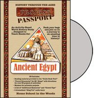 HISTORY Through the Ages Project Passport World History Study: Ancient Egypt from Home School in the Woods