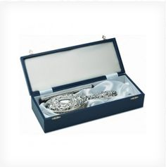 Sterling silver hallmarked 2 piece Victorian style dressing table set with bird & mask embossed pattern.