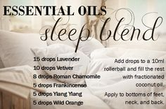 essential oil sleep blend  Order Oils: www.rooted2thrive.com/doterra Facebook Group: www.facebook.com/groups/rooted2thrive