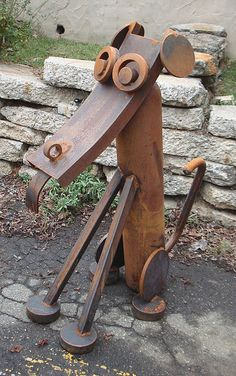 """Ol' Faithful"" - by Stefan Bonitz (Steebo Sculptures), via Flickr"