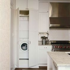 Laundry in kitchen ideas laundry in kitchen laundry closet in kitchen ideas laundry in kitchen laundry . laundry in kitchen ideas small kitchen laundry room Laundry In Kitchen, Laundry Center, Laundry Area, Laundry Room Organization, Small Laundry, Laundry Room Design, Kitchen Design, Laundry Closet, Laundry Rooms