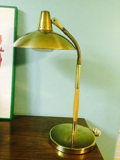 Details about fab mid century minimalist french flying ufo table mid century modern vintage ufo brass lamp unknown mozeypictures Choice Image