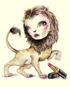 Natalia Jhete Brush Strokes, Humanoid Sketch, Art