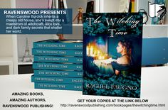 """#RP #amwriting #paganfiction #witches #mystery #suspense #paranormal #supernatural #horror #history #ghosts """"The Witching Time"""" by Rachel Faugno"""