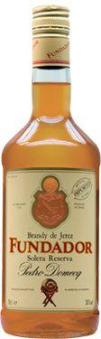 Brandy de Jerez FUNDADOR Solera Reserva Pedro Domecq Premium Liqueur, Gin and Cordial Brands   Beam Inc.