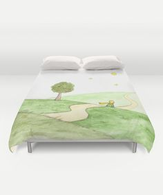 """""""Le Petit Prince"""" Duvet Cover by Savousepate on Society6 #duvetcover #bedroom…"""