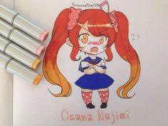 Chibi Osana Najimi by ScissorBoy1995