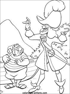 Coloriage de pirates à imprimer