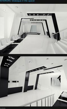 Contemporary dance hall