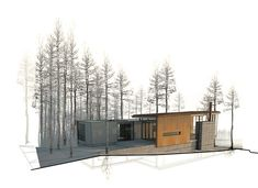 Renderings by Mw|works Architecture + Design