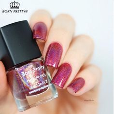 Holographic Nail Polish Holo Glitter Nail Varnish Hologram Effect Nail