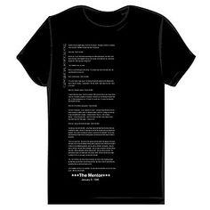 Really cool Hackers Manifesto t-shirt!