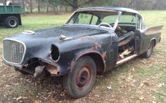BF Exclusive: 1957 Studebaker Mystery Hawk - http://barnfinds.com/1957-studebaker-mystery-hawk/
