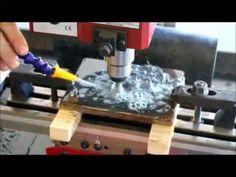 Cnc Desktop Mini Mill With Fluid Control Cutting 3 8 Steel