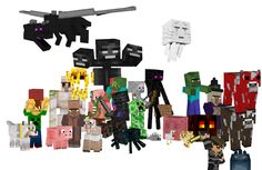 Quiz Minecraft mobs : Do you know your minecraft mobs? TAKE THE QUIZ! - What is the most common Minecraft mob? Minecraft Comics, Minecraft Mobs, Minecraft Drawings, Minecraft Characters, How To Play Minecraft, Minecraft Party, Minecraft Skins, Minecraft Stuff, Minecraft Ideas