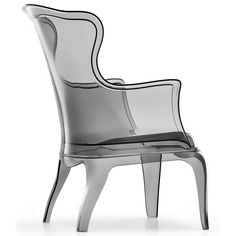 Pasha Transparent Chair by Marco Pocci and Claudio Dondoli for Pedrali furniture 2