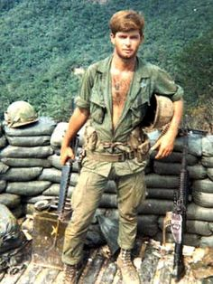 Charlie Company, 2nd Platoon, 5th Cavalry Regiment 1968. Pegged trousers, SKS bandolier, facial hair, no suspenders.