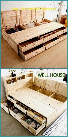 15 Incredible Do It Yourself Pallet Ideas #diypallet