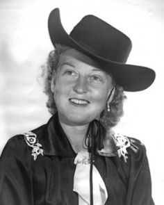 Faye Blackstone from the National Cowgirl Museum and Hall of Fame