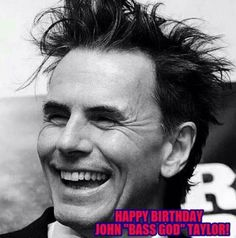 Happy Birthday John! ❤ June 20, 1960 #JohnTaylor #JT #bassgod #DuranDuran #duranie @duranduran