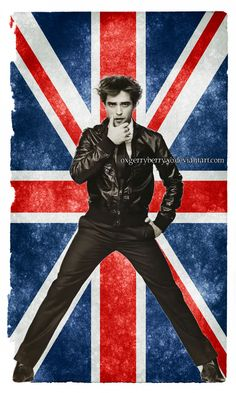 robert pattinson union jack