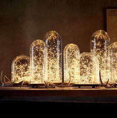 Restoration Hardware : Starry String Lights Amber